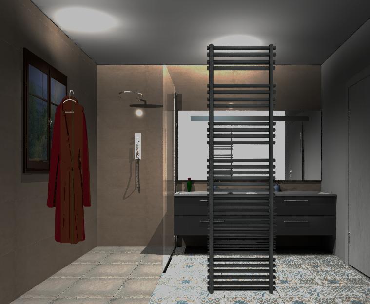 am nagement personnalis salle de bain bordeaux serber 2 0. Black Bedroom Furniture Sets. Home Design Ideas